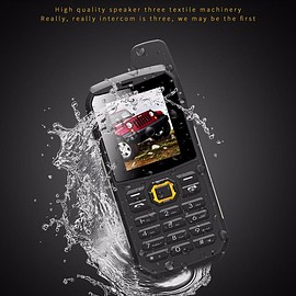 MWC - Water Resistant Dual SIM Military / Police Specification Rugged Cellphone