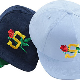 Supreme (2015 S/S) - Rose Cord 5-panel cap