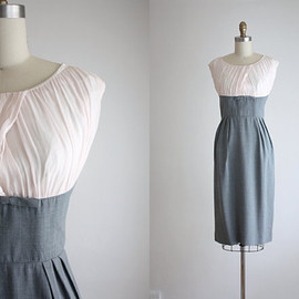 vintage - 1960s chiffon dress