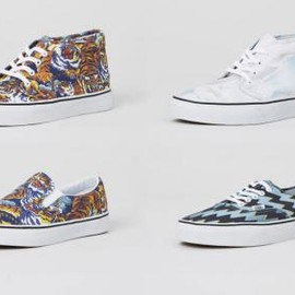 VANS, KENZO - FALL/WITNER 2013 SNEAKER COLLECTION