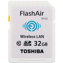 東芝(TOSHIBA) - 東芝 TOSHIBA 無線LAN搭載 FlashAir Wi-Fi SDHCカード Class10 日本製 並行輸入品 (32GB)