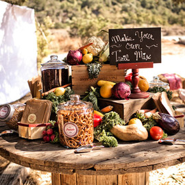 Green Wedding Shoes - trail mix bar