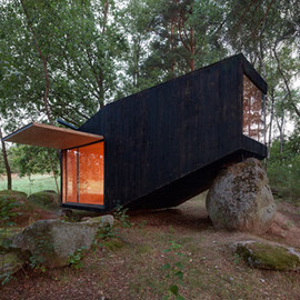 Uhlik Architekti - Forest Retreat