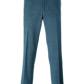 Loro Piana - pleated tapered trousers