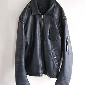 French Air Force Leather Jacket