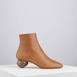 GRAY MATTERS - EGG BOOTS TAN ARDESIA