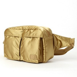 "B印 YOSHIDA - ""BULLION GOLD"" WAIST BAG(ウエストポーチ)"