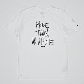 "NIKE - Nike Dry LeBron James ""More Than an Athlete"" T-shirt"