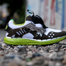 PUMA - Puma Disc Blaze - Smoke / Lime