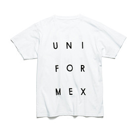uniform experiment - SQUARE TYPO TEE