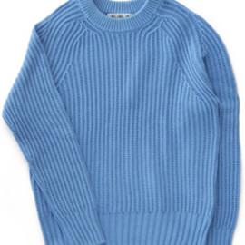 bal - Cotton Rib Knit (blue)