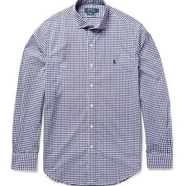 Polo Ralph Lauren - Slim-Fit Gingham Cotton-Poplin Shirt
