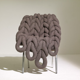 Claire-Anne O'Brien - BRITISH WOOL CHAIR