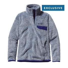 Patagonia - Women\'s Special Edition Re-Tool Snap-T Fleece Pullover Leaden Blue Classic Navy X-Dye LCNX