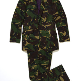 Richard James - British Camouflage Suit