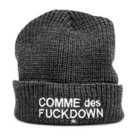 SSUR - Comme Des F*ckdown Ribbed Beanie