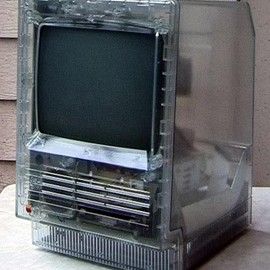 Apple Computer - Transparent Macintosh SE
