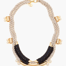 3.1 Phillip Lim - Tubular Crochet Jagger Necklace