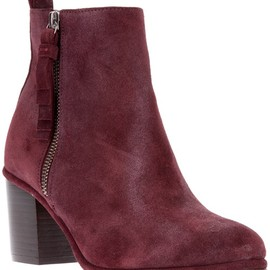 OPENING CEREMONY - OPENING CEREMONY - SUEDE CHUNKY HEEL ANKLE BOOT