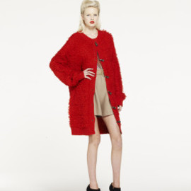 alice McCALL - Thornton Manor Cardigan (Blood Orange)
