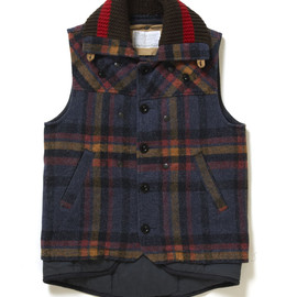 kolor - Vest with Detachable Liner