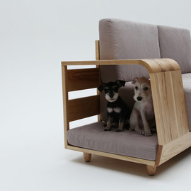 m.pup. - Dog House Sofa by Seungji Mun
