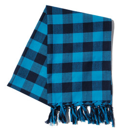 SOPHNET. - THERMOLITE FLANNEL CHECK STOLE