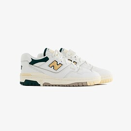 New Balance, Aimé Leon Dore - ALD / NB P550 Basketball Oxfords  White / Green