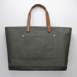 Stanley & Sons - COAL BAGW/ LEATHER STRAPS