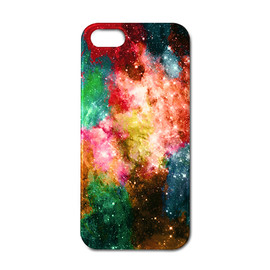 huru nia - Rainbow Galaxy iPhone ケース