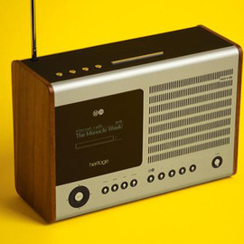 HERITAGE Black internet radio / wifi