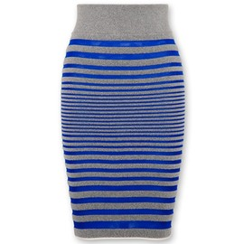 Alexander Wang - Engineered stripe skirt(2012SS)