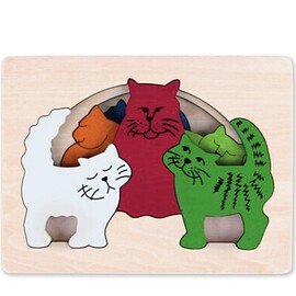 George luck puzzle - George luck puzzle cats