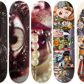 Supreme - Marilyn Minter skateboard decks