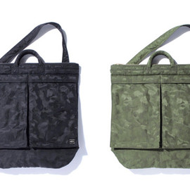 Porter x Bape - Camouflage Tote Bags