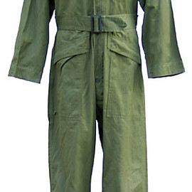 U.S. ARMY - SUITS, HERRINGBONE TWILL, O.D. 7, SPECIAL