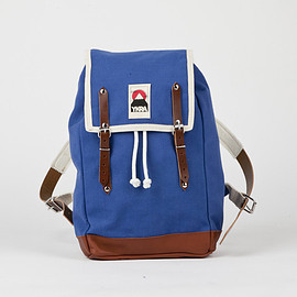 YKRA - BLUE MATRA MINI with leather strap and bottom