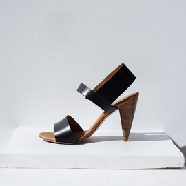 CHRISTOPHE LEMAIRE - Leather Heeled Sandal