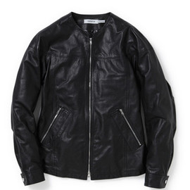 nonnative - LABORER BLOUSON - COW LEATHER