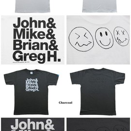 Bonzaipaint® - Jhon&Greg With SmileMark Tee-Back Print