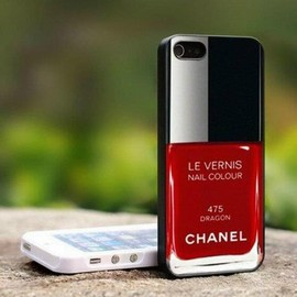Chanel - Chanel Nail Polish Iphone case