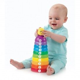 Fisher-Price - Toy Stack & Roll Cups