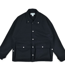 SASSAFRAS - FLOWER HUNTER JACKET-Melton-Black