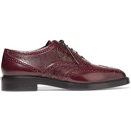 Burberry - Patent-leather brogues