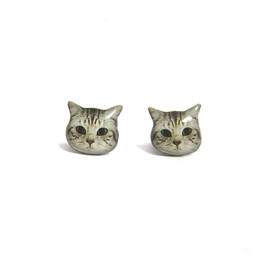 Faz Jewelry - ネコピアス Short hair Kitten