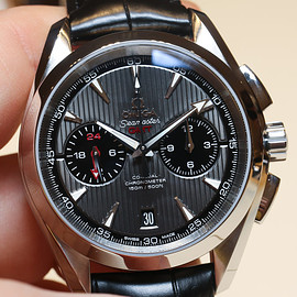 OMEGA - Aqua Terra 150m Co-Axial Chronograph GMT  43mm