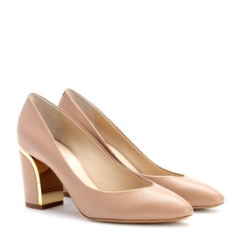 Chloé - BECKIE LEATHER PUMPS