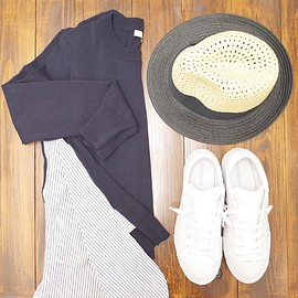 Madewell, CONVERSE - outfit