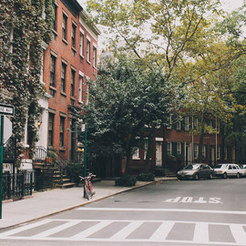 New York, West Village - 閑静な住宅街