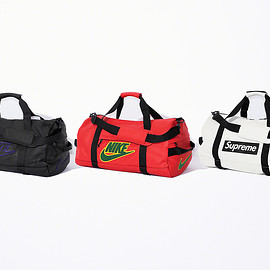 Supreme, NIKE - Leather Duffle Bag
